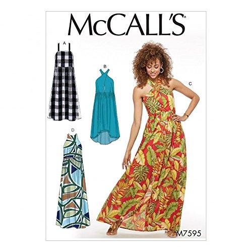 Unbekannt McCall \'s Damen Schnittmuster 7595nbsp;Geraffte Taille ...