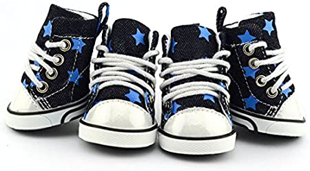 Pet Dog Boot Sneakers Tennis Shoes
