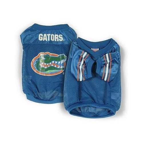 NCAA Florida Gators Football Dog Jersey, X-Large