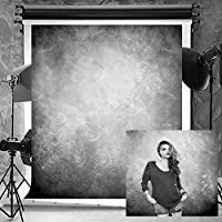 Kate 5x7ft(1.5x2.2m) Texture Photography Backdrops for Photographers Cotton No Wrinkle Reused Abstract Black Grey Photo Backdrop
