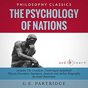 The Psychology of Nations by G.E. Partridge Audiobook