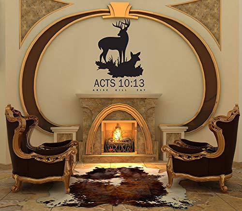 Acts 10:13 Deer hunting wall decal -