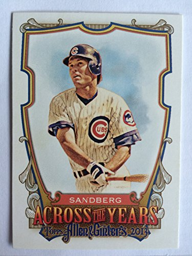 2013 Topps Allen   Ginter Across The Years Aty Rs Ryne Sandberg Nm M  Near Mint Mint