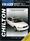Volkswagen Passat and Audi A4, 1996-2001, Chilton Automotive Editorial Staff, 1563924447