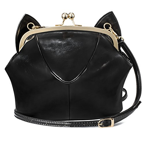 Xmlizhigu Women girls' Cute Fashion Cat Ear Outdoor Handbag Crossbody Shoulder Bag - To How Broken Repair Sunglasses