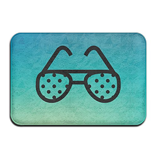 Qbeir Kid's Sun Glasses 16''24'' Door Mat Doormat Door Mats Rug Entrance Mat Entry - Sunglasses Quiz