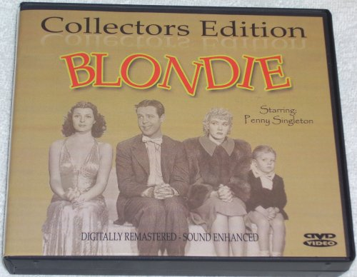 BLONDIE-COLLECTORS EDITION-9 DISC BOXED SET-28 MOVIES W/ INTERACTIVE DVD MOTION MENUS