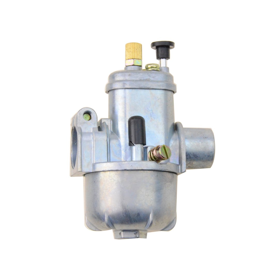 GOOFIT 15mm Bing Style Carburetor for Puch Maxi Sport Luxe Newport E50 Cobra Carb
