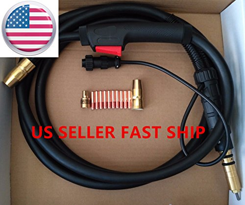 US SELLER,MIG WELDING GUN &TORCH 15' 150AMP for Millermatic,replace M-10,M-15,M-100,M-150,Hobart IronMan 210 (ETA:2-8 WORK DAYS) by CYMPOLLIA2016