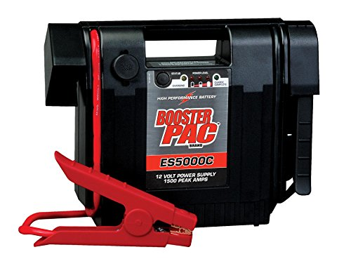 Booster PAC ES5000C 1500 Peak Amp 12V Jump Starter (CEC Compliant) - discontinued by manufacturer - 12v Battery Booster 1500 Peak