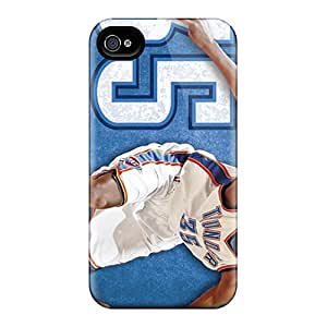 Iphone 4/4s Zzr4998vXjP Allow Personal Design HD Oklahoma City Thunder Series Scratch Resistant Hard Phone Cover -PhilHolmes
