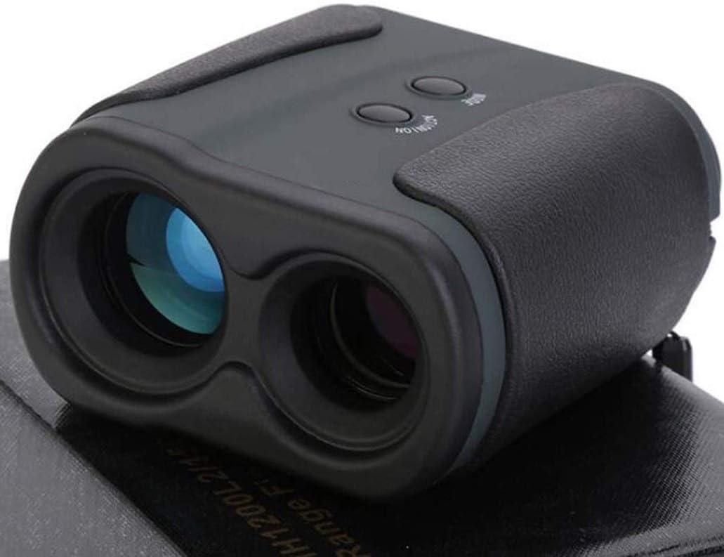 WSMLA Caza telémetro - Laser Range Finder for la Caza con Velocidad de exploración y Medidas Normales telémetro láser for la Caza Salvaje 5-1200M portátil Ranging telescopio monocular