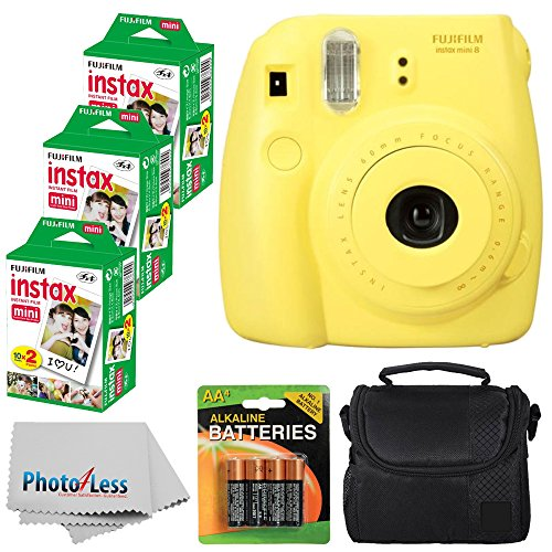 Fujifilm Instant Yellow Compact Batteries product image