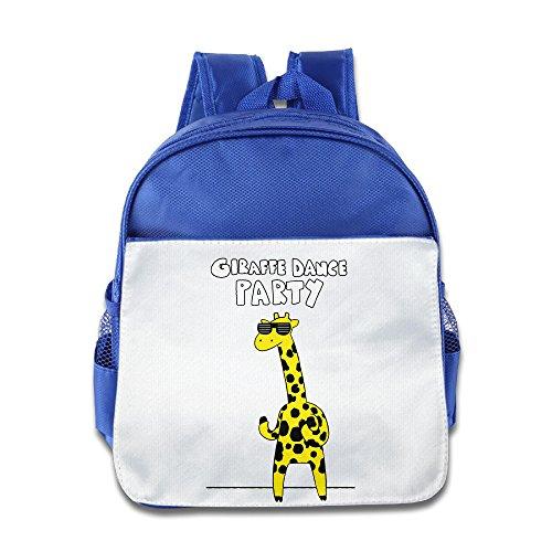 Discovery Wild Child Toddler Kids Backpack School Bag, Giraffe Dance Party - RoyalBlue (Shera Costumes)