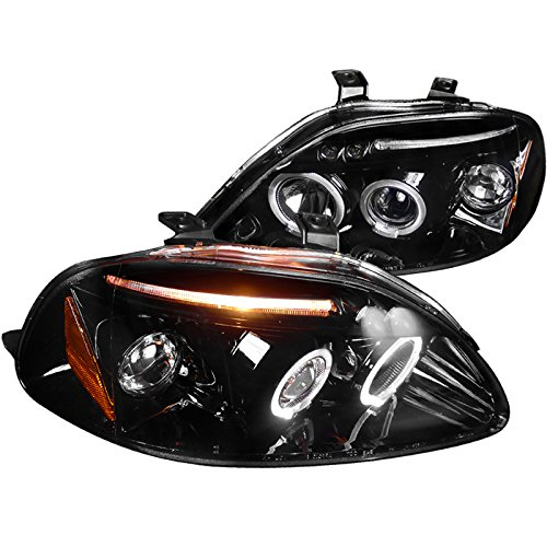 Spec D Tuning 2LHP CV96G TM Projector Headlights
