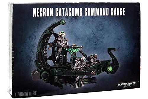 "Games Workshop 99120110013"" Necron Catacomb CMD Barge/annihil. Tabletop and Miniature Game"