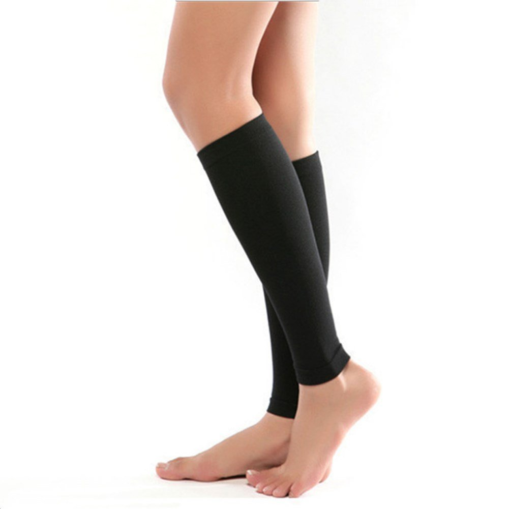 ab77802aec614 PPXRORO Calf Compression Sleeve 20-30mmHg for Men & Women - Best Footless  Compression Socks for Shin Splint & Leg Pain Relief, Running, Nurses & ...