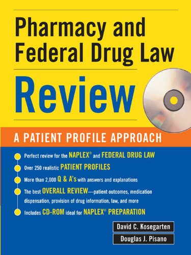 Pharmacy & Federal Drug Law Review: A Patient Profile Approach: A Patient Profile Approach Pdf