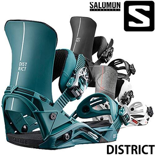 18-19 SALOMON/サロモン DISTRICT ディストリクト メンズ ビンディング バインディング スノーボード 2019 CREAM S(22.0~24.5cm)
