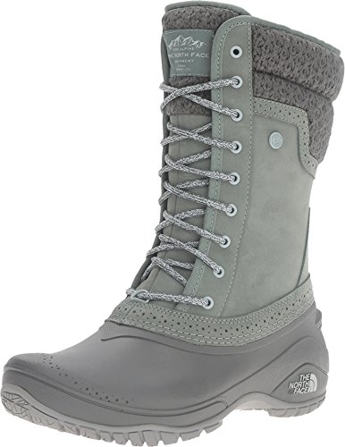 The North Face Womens Shellista II Mid Boot,Duck Green/Wrought Iron,US 10 M by The North Face