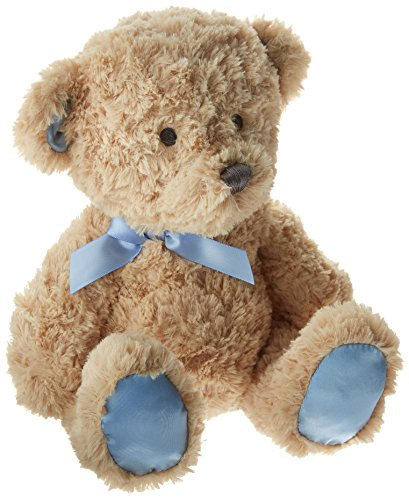 C.R. Gibson Hush Little Baby Plush Bear Musical Wind-Up Toy, By Baby (Infant Newborn Stuffed Toy)