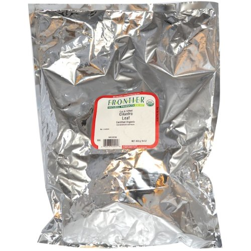 - Frontier Organic Cut/Sifted Cilantro Leaf 1 Pound