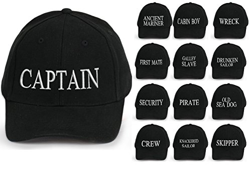 Capitán negro DOG blanco First letras SEA tripulación Yachting Mate algodón Mariner Boy Ancient béisbol Gorra de Cabin OLD inscripción 4sold 100 RFqITawwB