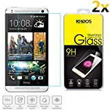 2x KHAOS® For HTC One Mini 2,HTC M8 mini,HTC One Remix (2014) Screen Protector, [2 PACK] Premium Tempered Glass Screen Protector Film 0.3mm 2.5D (For HTC One Remix/Mini2)