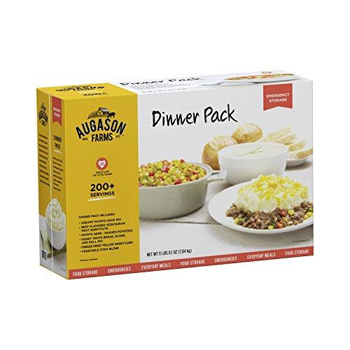 Augason Farms Dinner Pack Emergency Food Storage