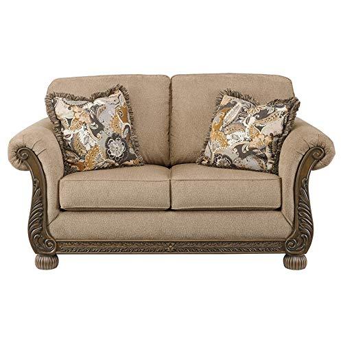 Signature Design by Ashley - Westerwood Elegant Loveseat, Patina (Sofa Cottage Loveseat Style)