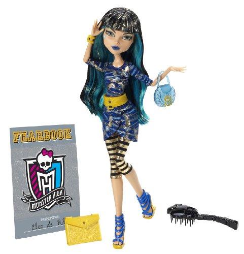 Mattel Monster High Y8500 – Muñeca de Cleo de Nile con anuario