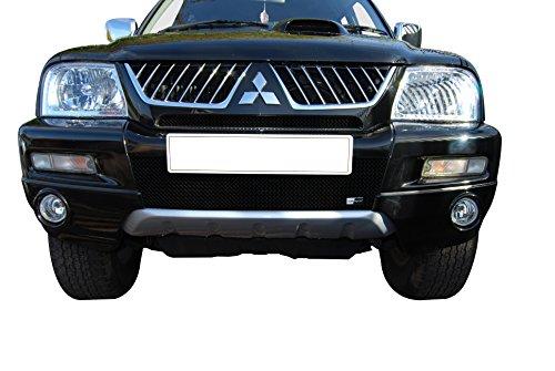 Mitsubishi L200 Front Grille Set - Black finish (Pre 2007 ) (Mitsubishi L200 Front Guard compare prices)