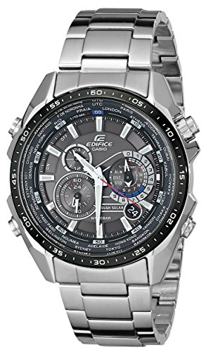 Casio EQS500DB 1A1 Stainless Multi Function Bracelet