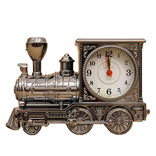 Train Alarm (Lopkey Antique Locomotive Alarm Clock/fashion Home Creative Train Alarm Clock)