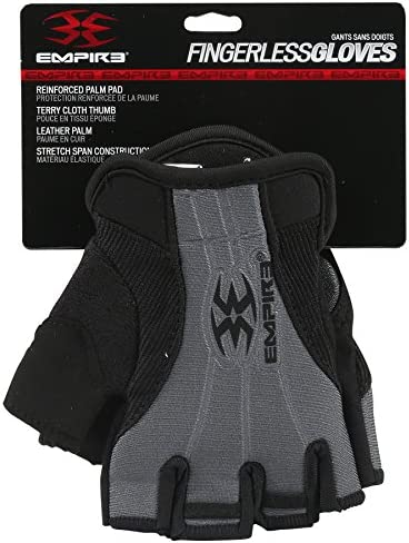 Empire Fingerless Gloves TW Black