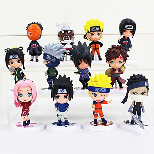 12 PCS/Set BEST Anime Action Figure COOL Action Figures New Models for Christmas and Birthday