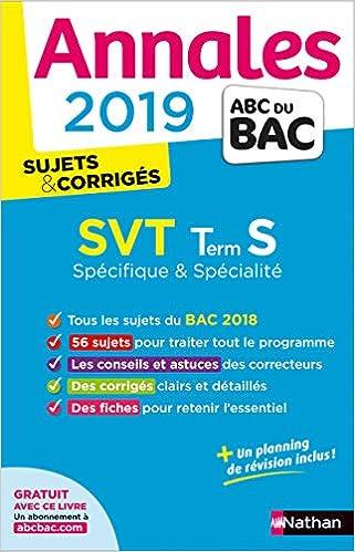 SVT Tle S spécifique + spécialité : Sujets & corrigés Annales ABC du Bac: Amazon.es: Christophe Durand, Frédéric Lalevée: Libros en idiomas extranjeros