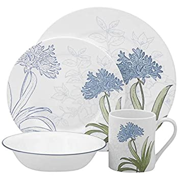 Corelle Impressions Freesia 16-Piece Dinnerware Set Service for 4  sc 1 st  Amazon.com & Amazon.com | Corelle Impressions Freesia 16-Piece Dinnerware Set ...