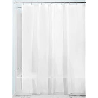 4 InterDesign Mildew Resistant Peva 3 Gauge Shower Curtain Liner
