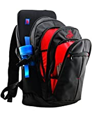 RedStarTec 17 Inch Laptop Backpack Computer Bag - With 15.6 in Laptop Sleeve