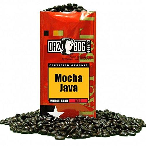 Dazbog Coffee ORGANIC Mocha Java 12 oz bag Whole Bean