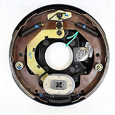 "Southwest Wheel 10"" X 2-1/4"" Left Hand Trailer Electric Brake Assembly: Automotive"