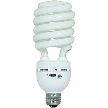40 Watt Fluorescent Light Bulbs: Feit Electric ESL40TN/D 40-Watt Compact Fluorescent High-Wattage Bulb,  Daylight,Lighting