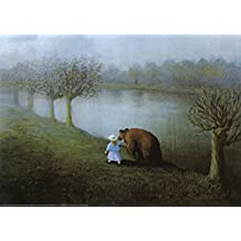 Bear Art Poster Print by Michael Sowa, 28x20 Art Poster Print by Michael Sowa, 28x20