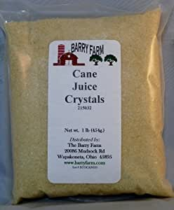 Cane Juice Crystals, 1 lb.