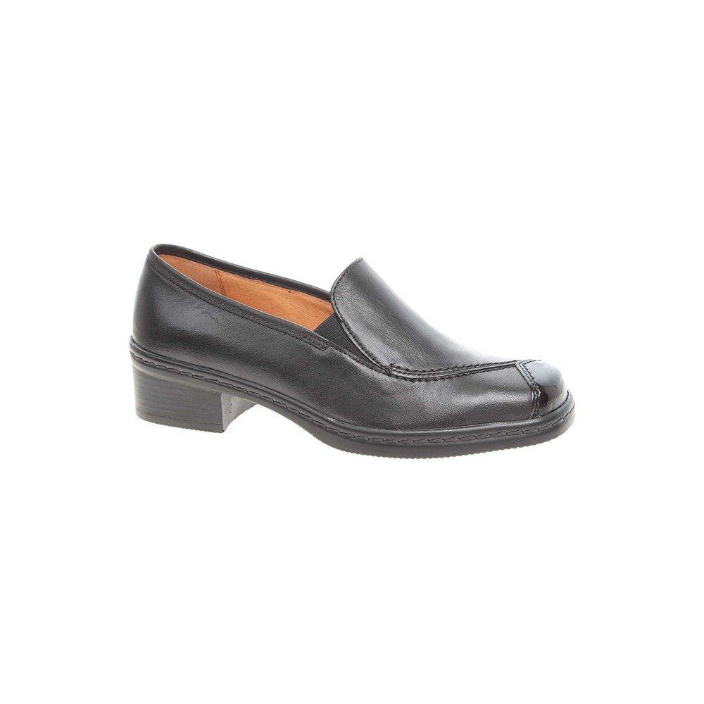 Gabor Shoes Comfort Basic, Zapatos de Cordones Derby para Mujer 41 EU Negro (Schwarz 67)
