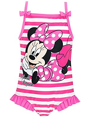 Minnie Mouse Girls' Disney Minnie Mouse Swimsuit