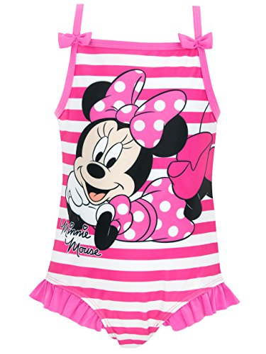 Disney Minnie Mouse Girls Minnie Mouse Swimsuit 3T