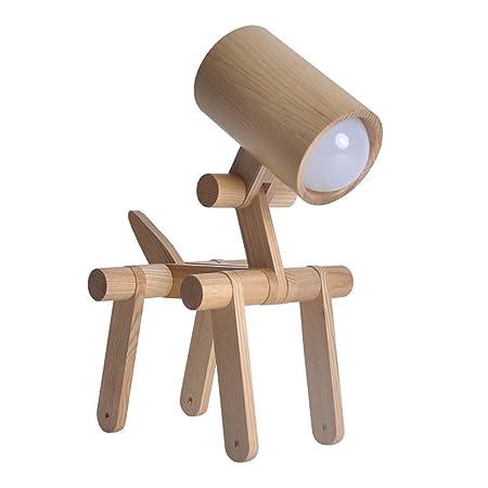Desinger Montaje Minimalista Ajustable DIY Lámpara de Mesa Lámpara ...