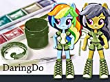 How to Make a Custom Daring Do & Rainbow Dash Mini Doll